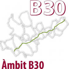 Logotip Àmbit B-30